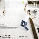 Rafael Nadal avec Dekton