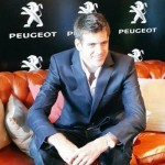 Del Potro roule en Peugeot