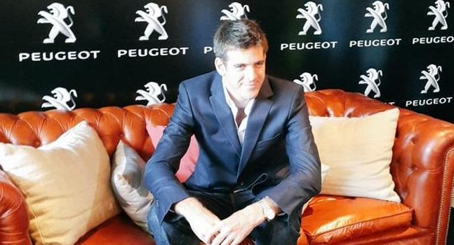Juan Martin Del Potro Peugeot
