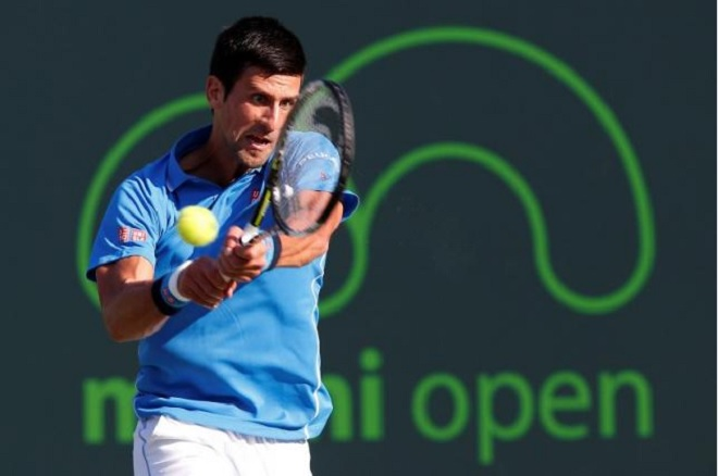 Novak Djokovic miami open 2015