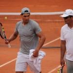 Babolat Play au service de Toni Nadal
