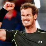 Andy Murray en mode terrien