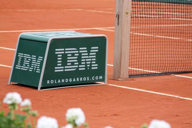 IBM partenaire technologique à Roland-Garros