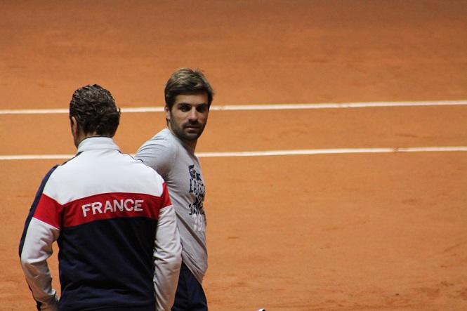 Arnaud cl ment voque son viction la t te des bleus - Arnaud clement coupe davis ...