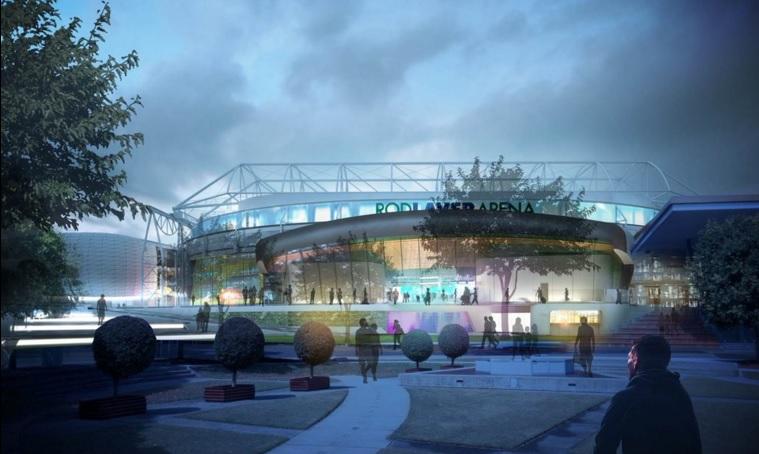 Nouvelle entrée Rod Laver Arena - Major Projects
