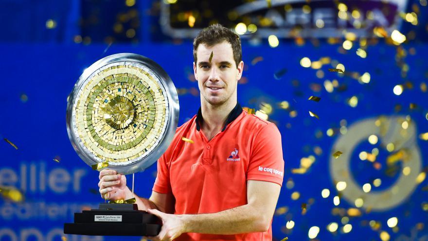 Retour gagnant pour Richard Gasquet. ©IconSport