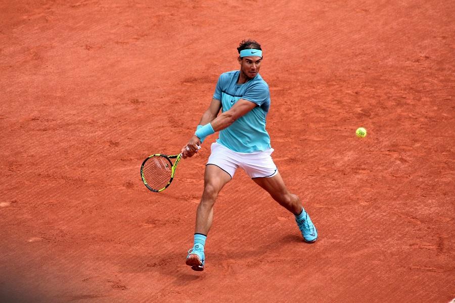Rafael Nadal retrouve son jardin
