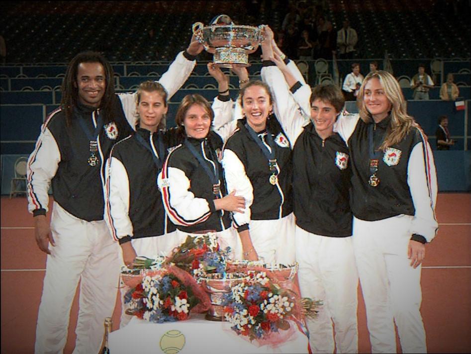 En 1997 les Bleues remportent pour la première fois la FED CUP/ ©AFP