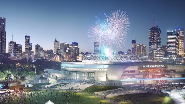 Grand plans are underway to revamp Melbourne Park.