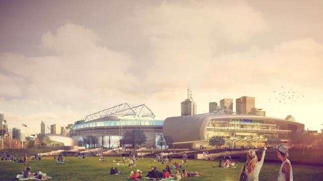 There are grand plans for Melbourne Park