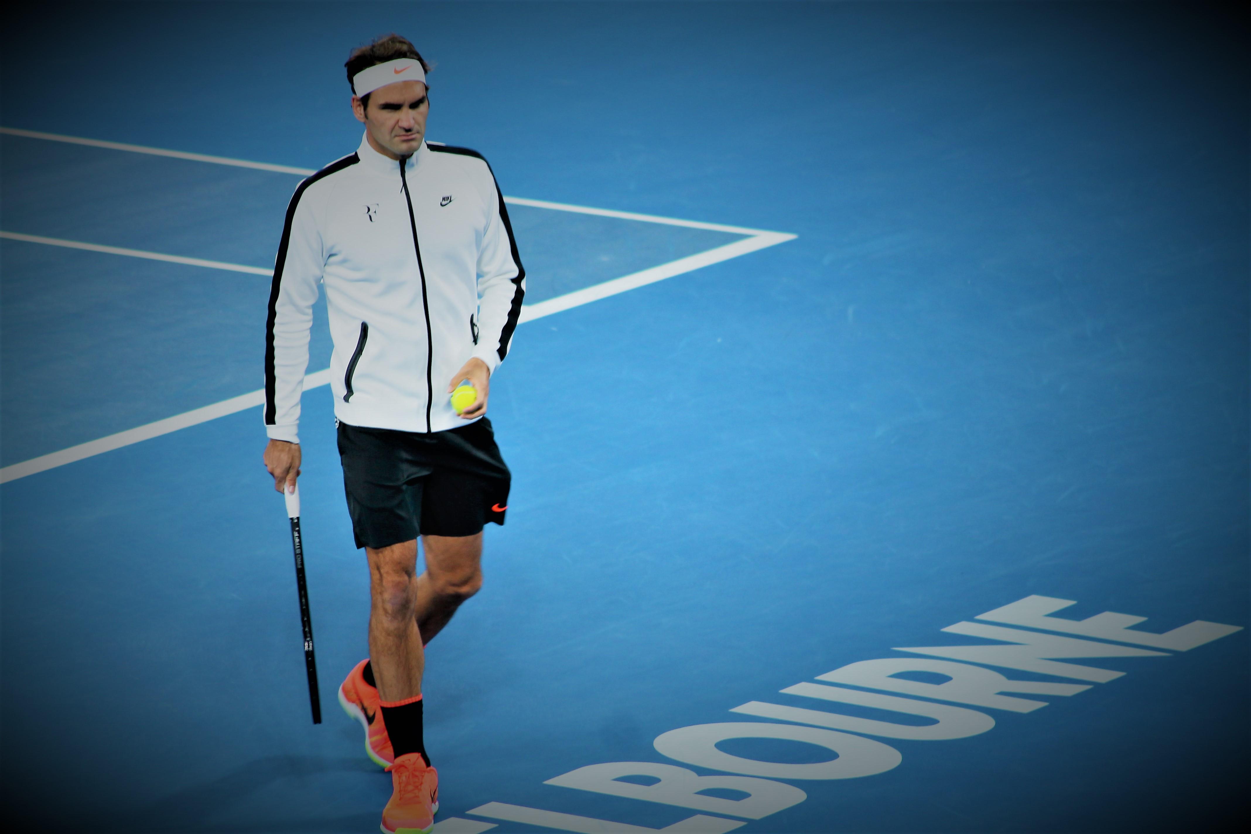 Après sa victoire contre Tomas Berdy, Roger Federer se rassure /©SoTennis