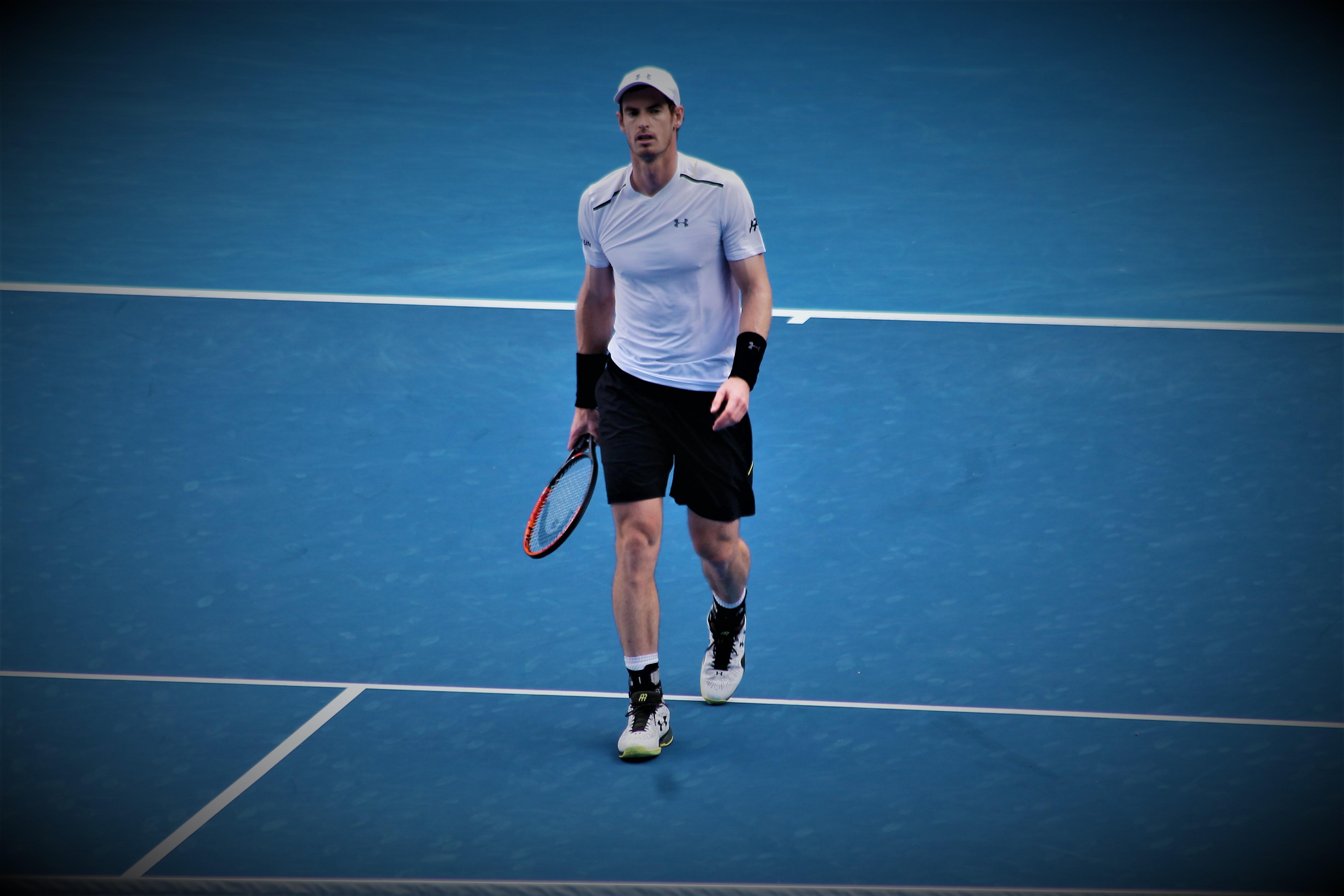 Andy Murray de retour en simple