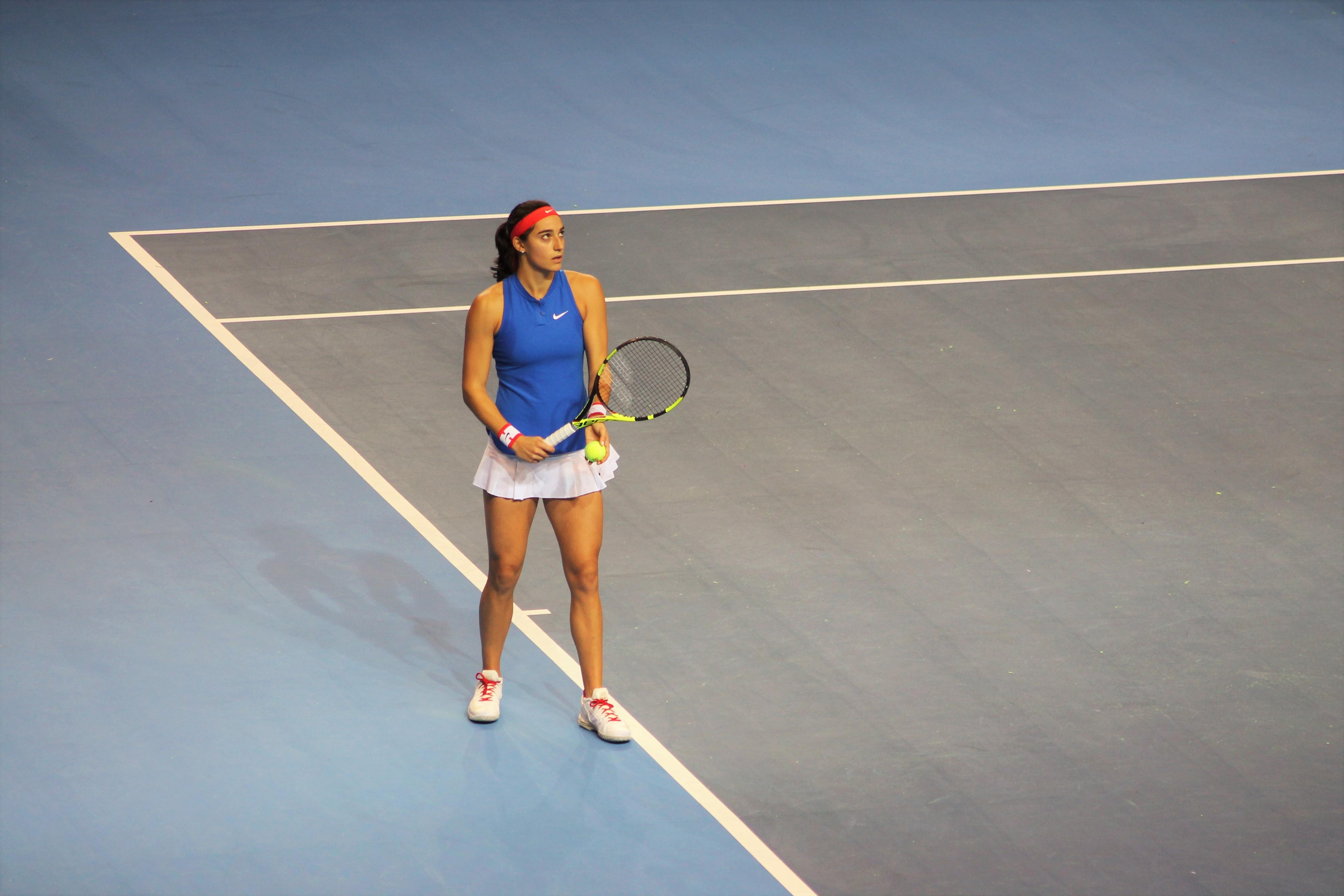 Caroline Garcia a été appelée pour disputer les barrages en Fed Cup / ©SoTennis