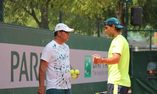 Toni et Rafael Nadal sont déjà concentrés sur Roland-Garros / ©SoTennis