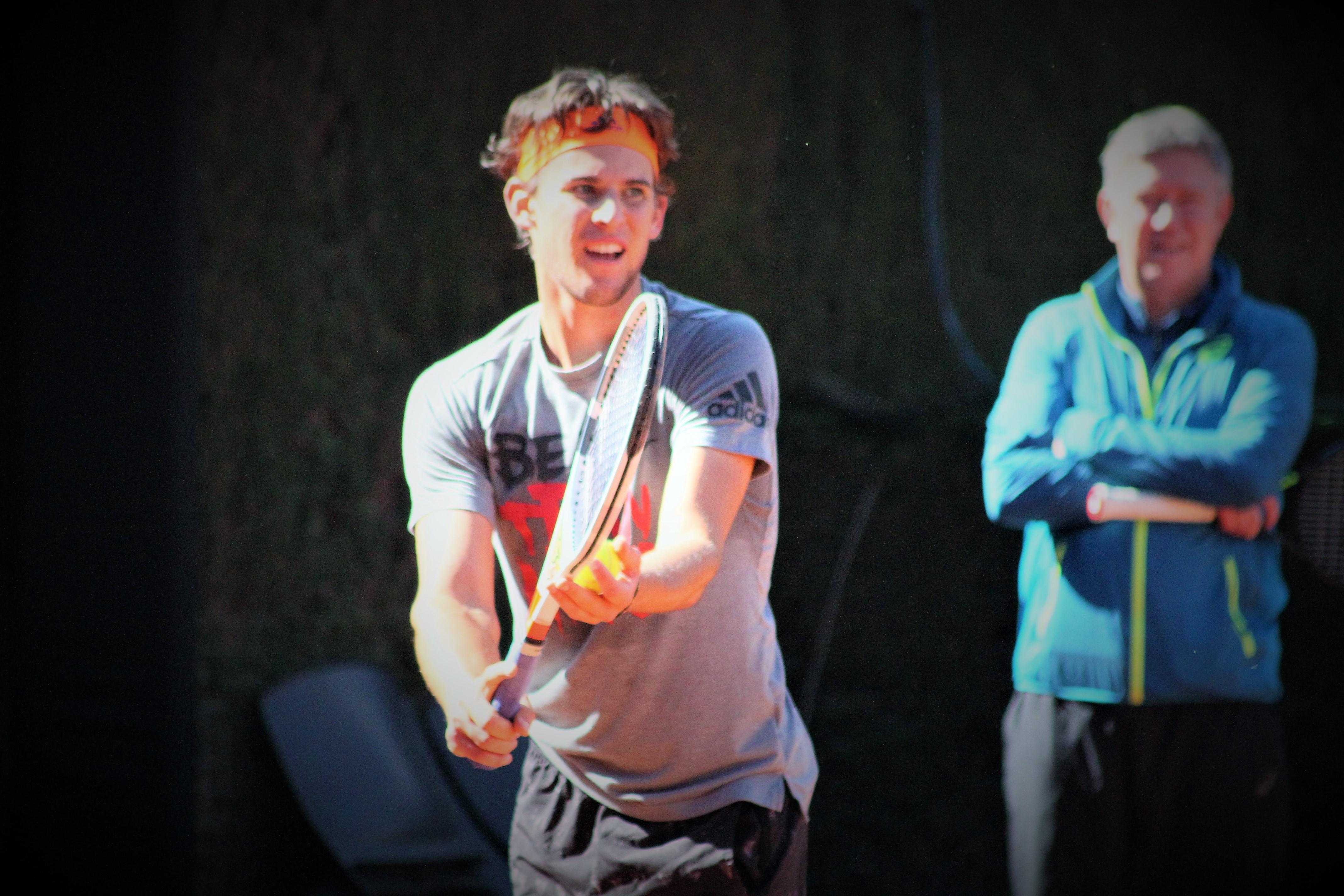 Dominic Thiem espère briller encore une fois à Roland-Garros / ©SoTennis