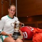 Jelena Ostapenko: «J'ai du mal à y croire»