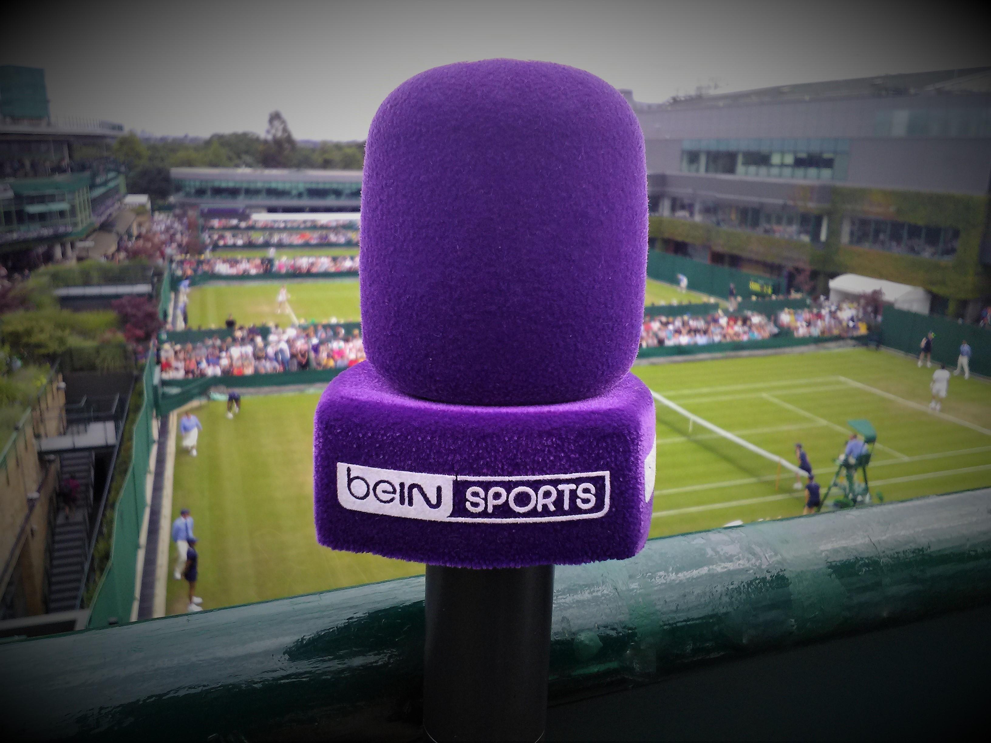 beIN SPORTS à Wimbledon / ©SoTennis