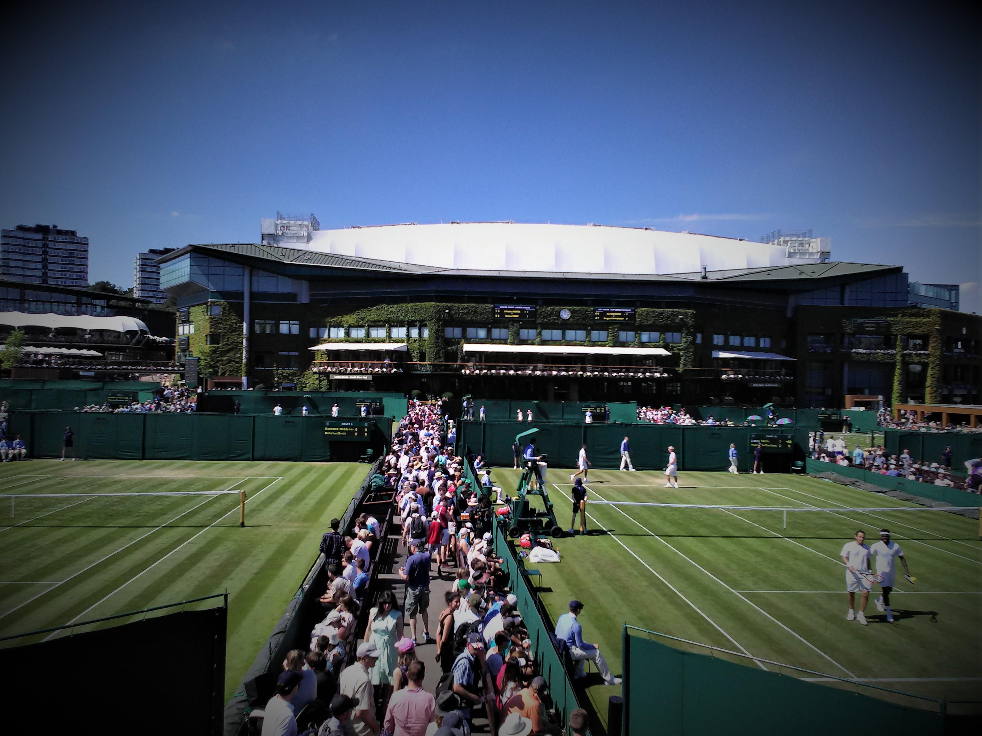Wimbledon s'étend