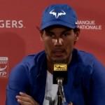 Rafael Nadal: «Une très mauvaise défaite»