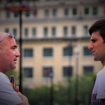 Andre Agassi ambitieux pour Novak Djokovic