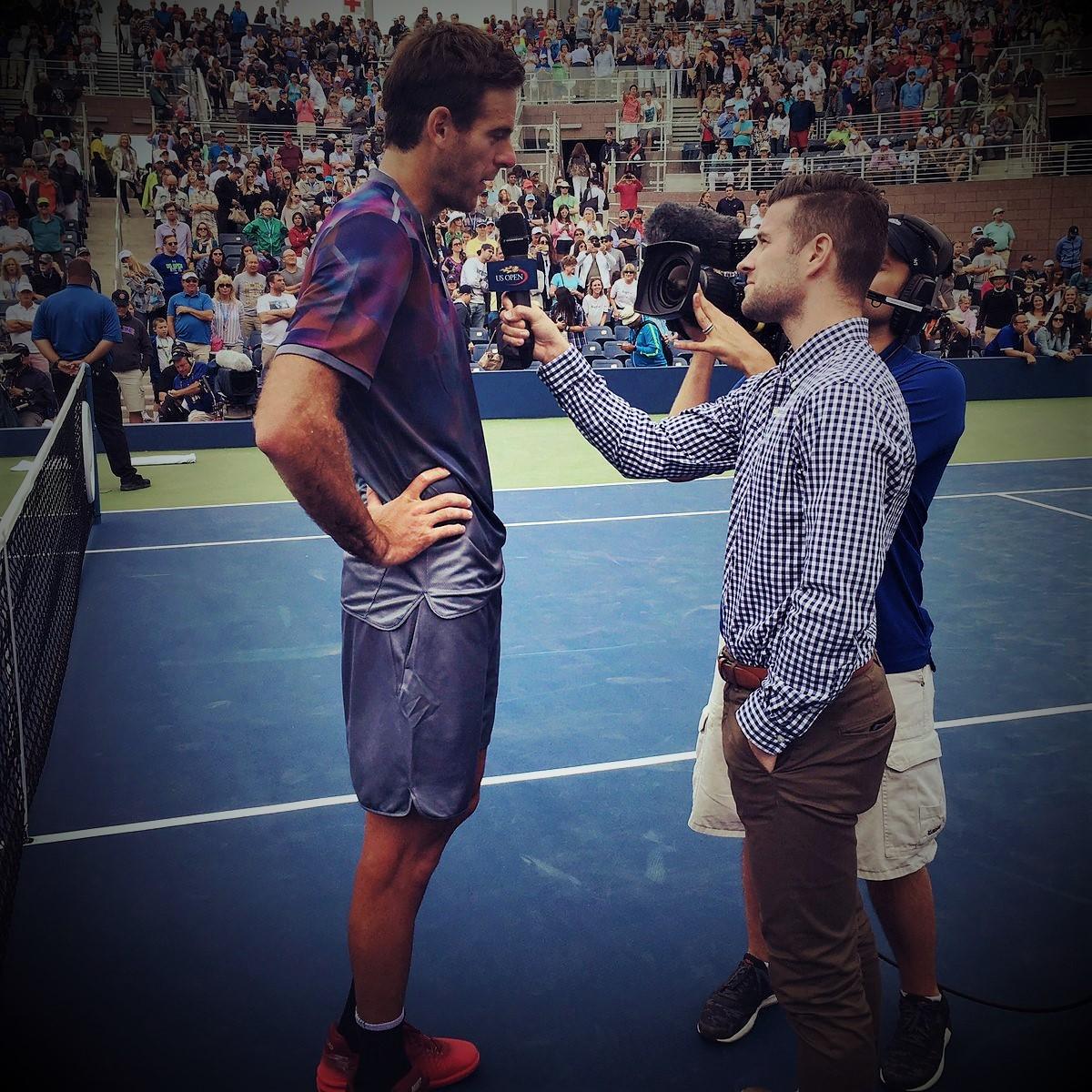 Nick McCarvel: «J'adore faire vivre aux fans la vie de ces tournois»