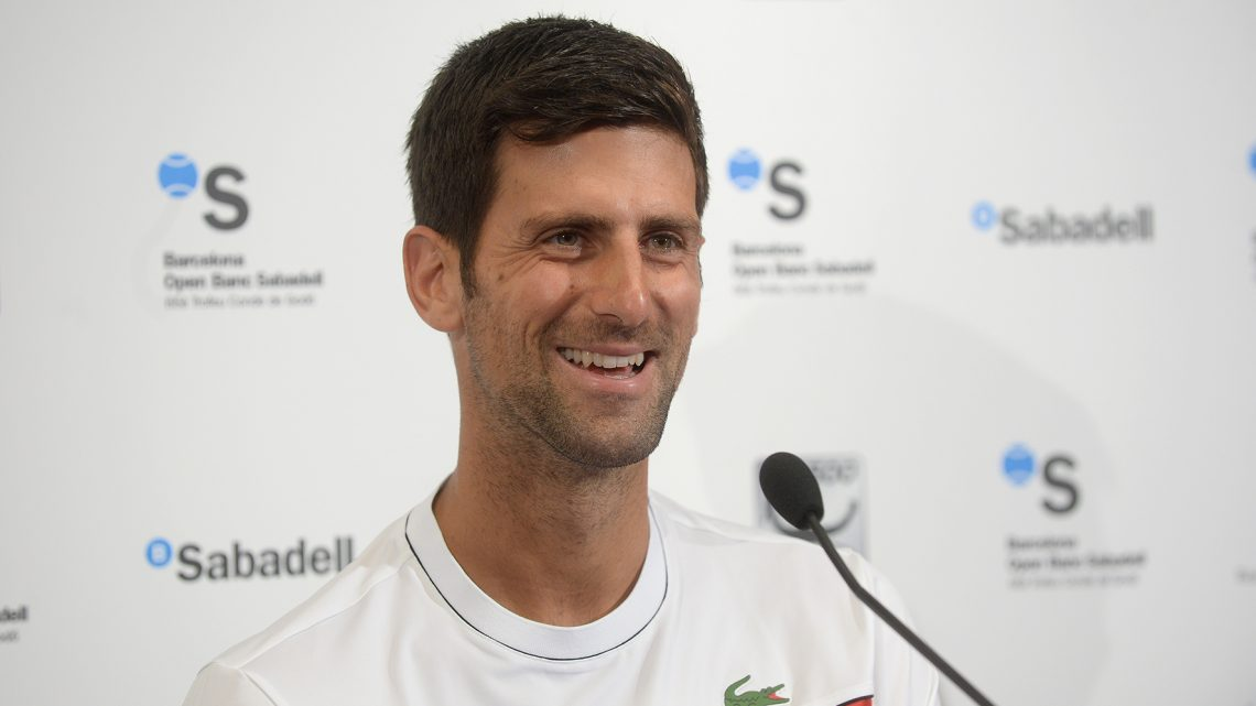 Novak Djokovic : «Rien de mieux que des matches»