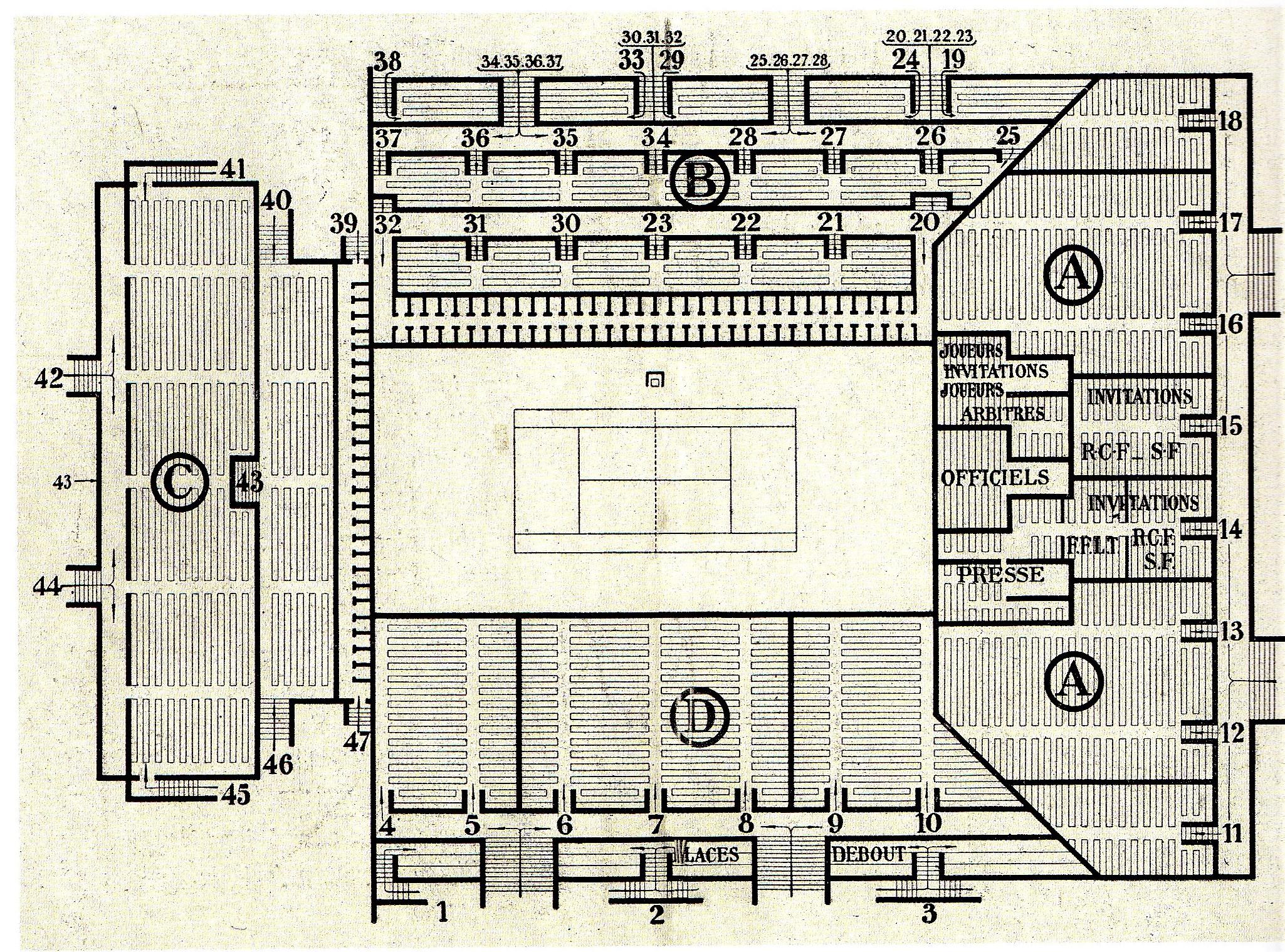 Plan Roland-Garros