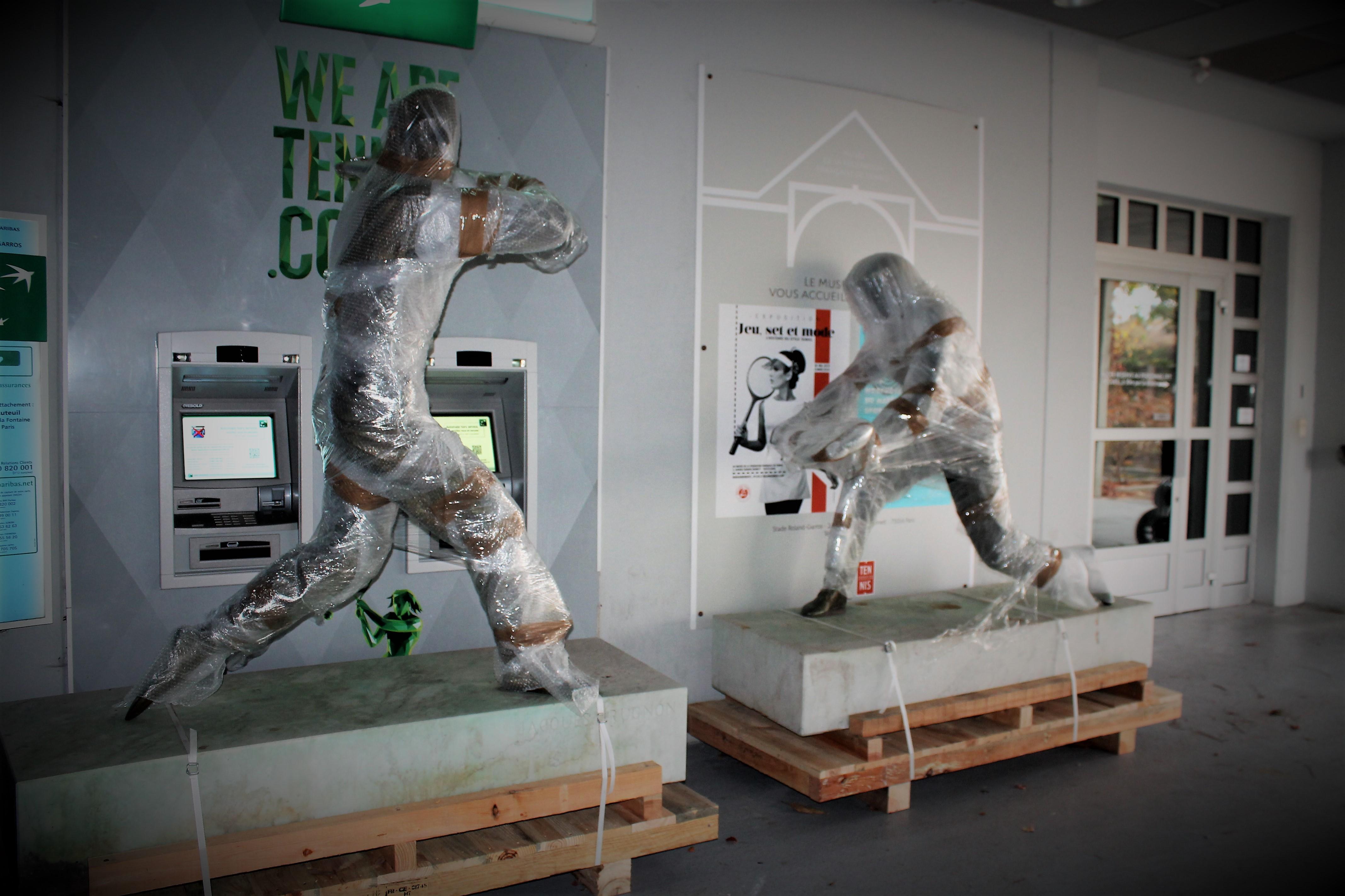 statues des Mousquetaires