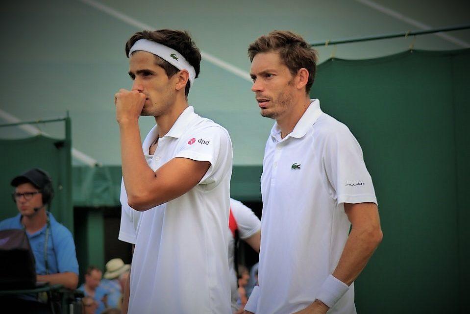 Nicolas Mahut et Pierre-Hugues Herbert au deuxième tour