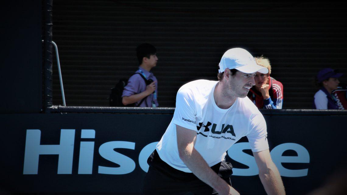 Andy Murray dit stop