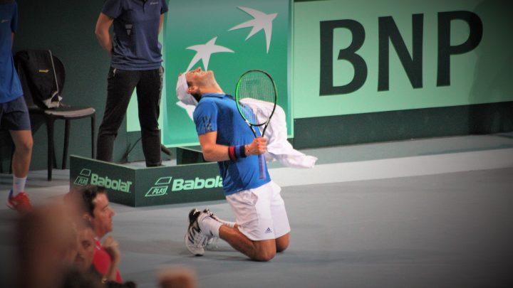 Lucas Pouille: «Un gros match de Coupe Davis»