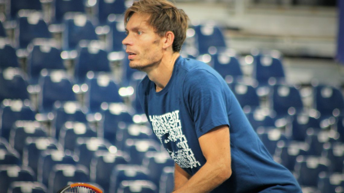 Nicolas Mahut : «Rapporter le point»