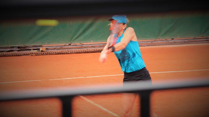 Simona Halep en a plein le dos