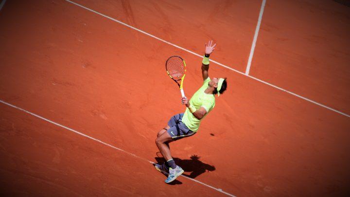 Rafael Nadal, les pieds sur terre