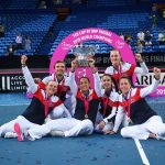 La France remporte la Fed Cup