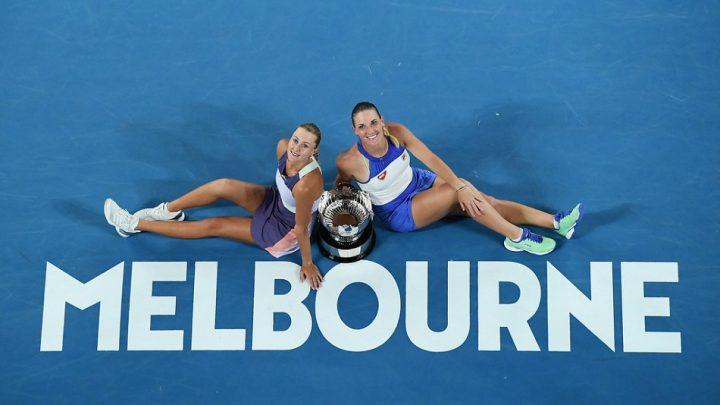 Open d'Australie: Kristina Mladenovic et Timea Babos titrées