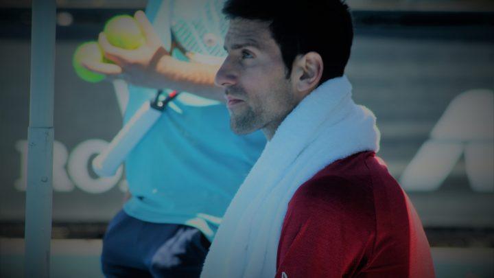 Novak Djokovic : «Ils frappent à la porte»