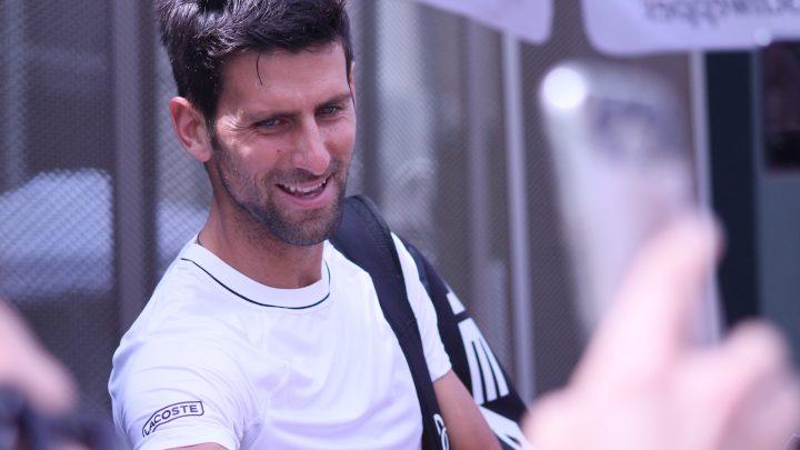 Novak Djokovic testé positif à la Covid-19