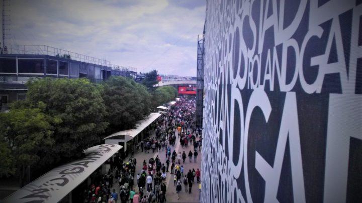 Roland-Garros avec du public