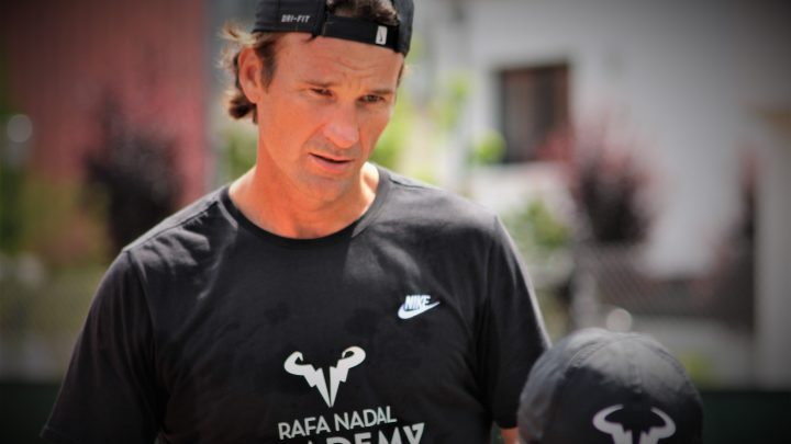 Carlos Moya:«Rafa souffrait depuis des mois»