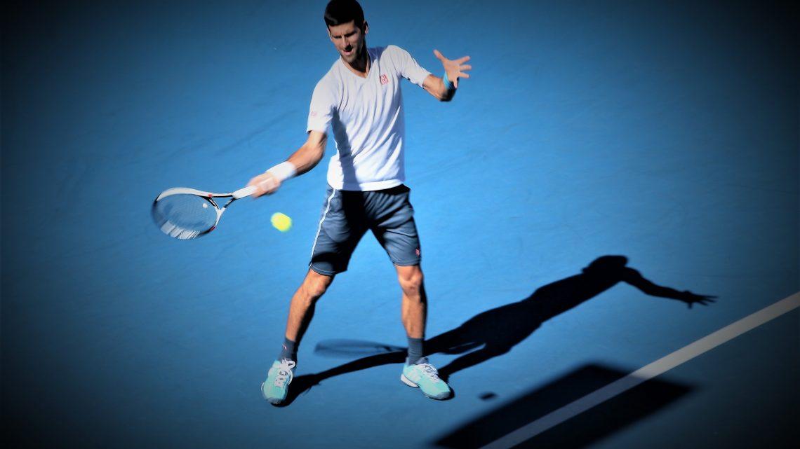 Novak Djokovic privé de désert